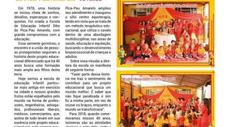 Escola de Educação Infantil Sítio do  Pica-Pau Amarelo 40 anos!