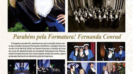 Formatura Fernanda Conrad