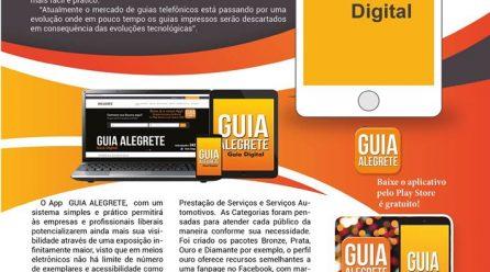 Guia Alegrete inova com app Digital