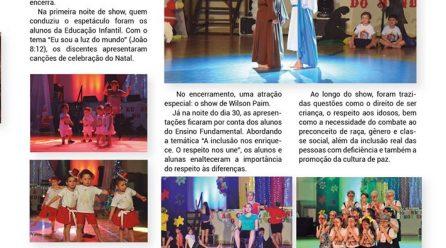 Natal e inclusão são temas do Show Musical do CDC em 2018